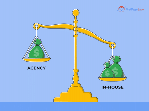 Digital marketing agency vs. in-house: which is better for your firm?