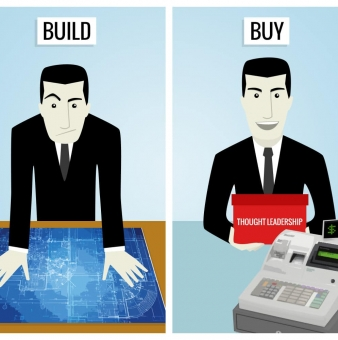 Your Thought Leadership Content Marketing Team: To Build or To Buy?