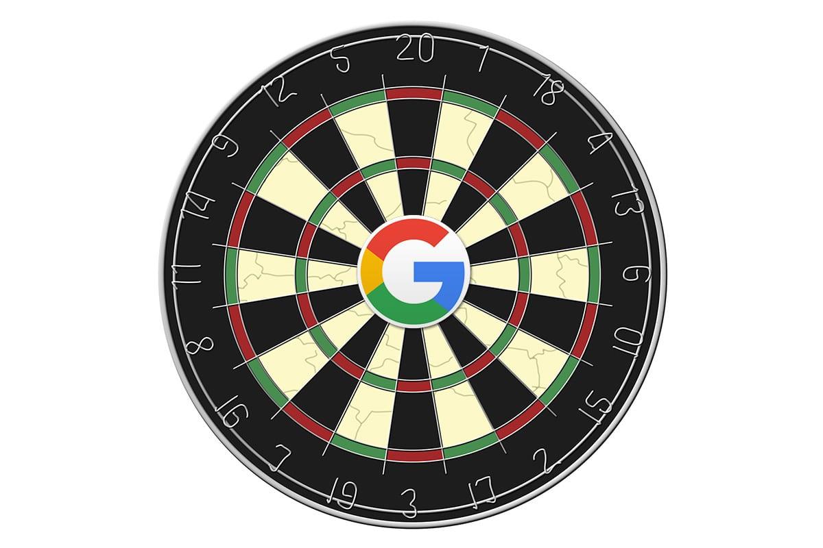 google-bullseye