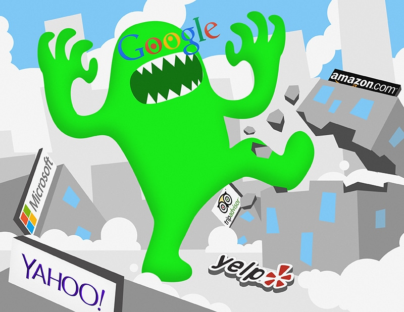 Google's Greed: How the Search Giant's Lust For Information Is Impacting Your Search Results